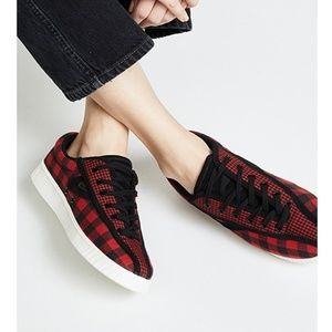 Tretorn Nylite Checked Buffalo Plaid Sneaker